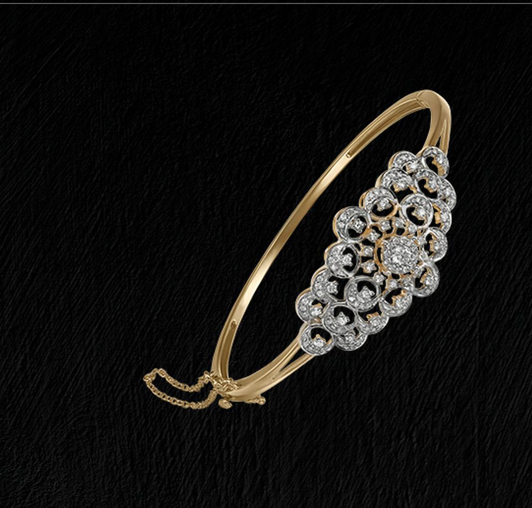 Zuhurby tanishq jewellery pinterest bangle bracelets and diamond