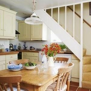 cocinas bajo la escalera