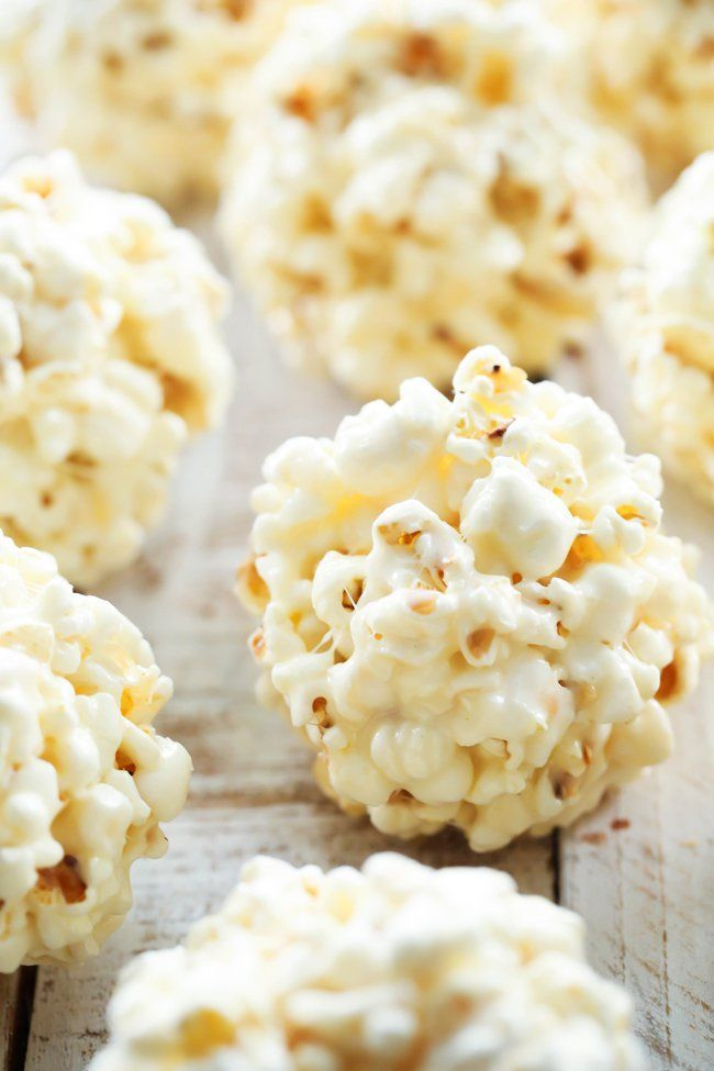 Marshmallow Popcorn Ball Makes For A Yummy Snack