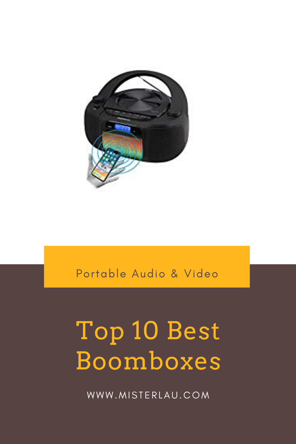 Top 10 Best Boomboxes in 2020 Boombox, Electronics