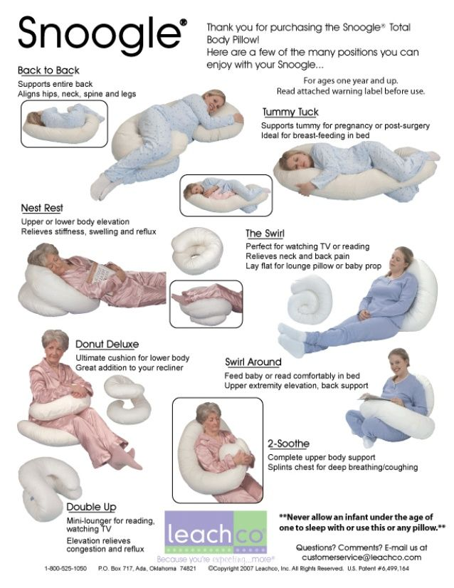 leachco snoogle total body pillow nz