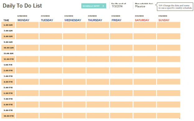Daily Checklist Template Word Daily To Do List Template For Word – Daily Checklist Template Word