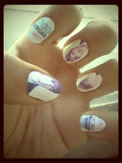 My Nails Of Kendall Schmidt of BTR <3