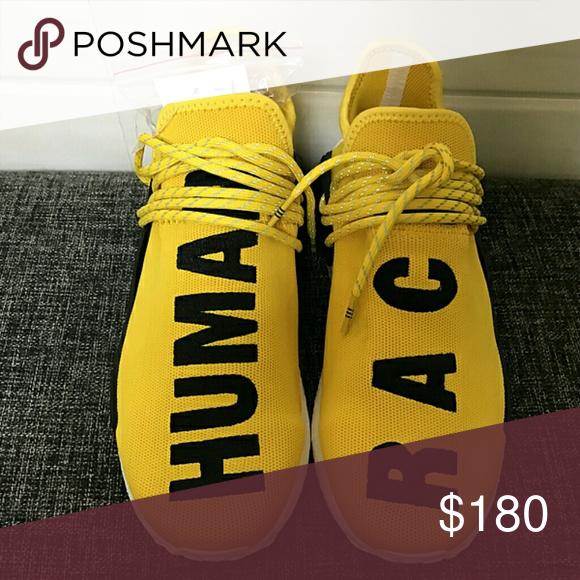 Pharrell tamaño: Williams Adidas raza humana NMD PW tamaño: Pharrell 5, 13, color: amarillo 862658