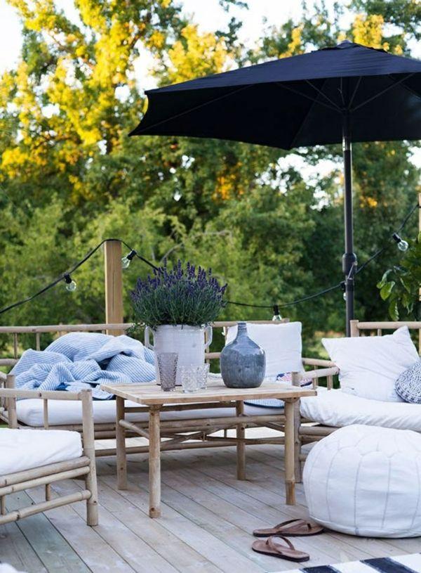 bambus gartenmöbel bambus zaun bambus lounge Terrasse \ Veranda - lounge gartenmobel mit esstisch