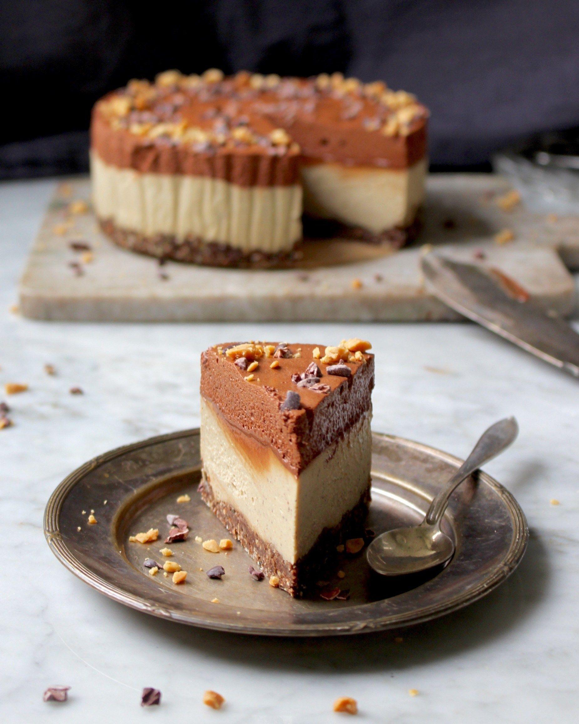 cheesecake caramel recept