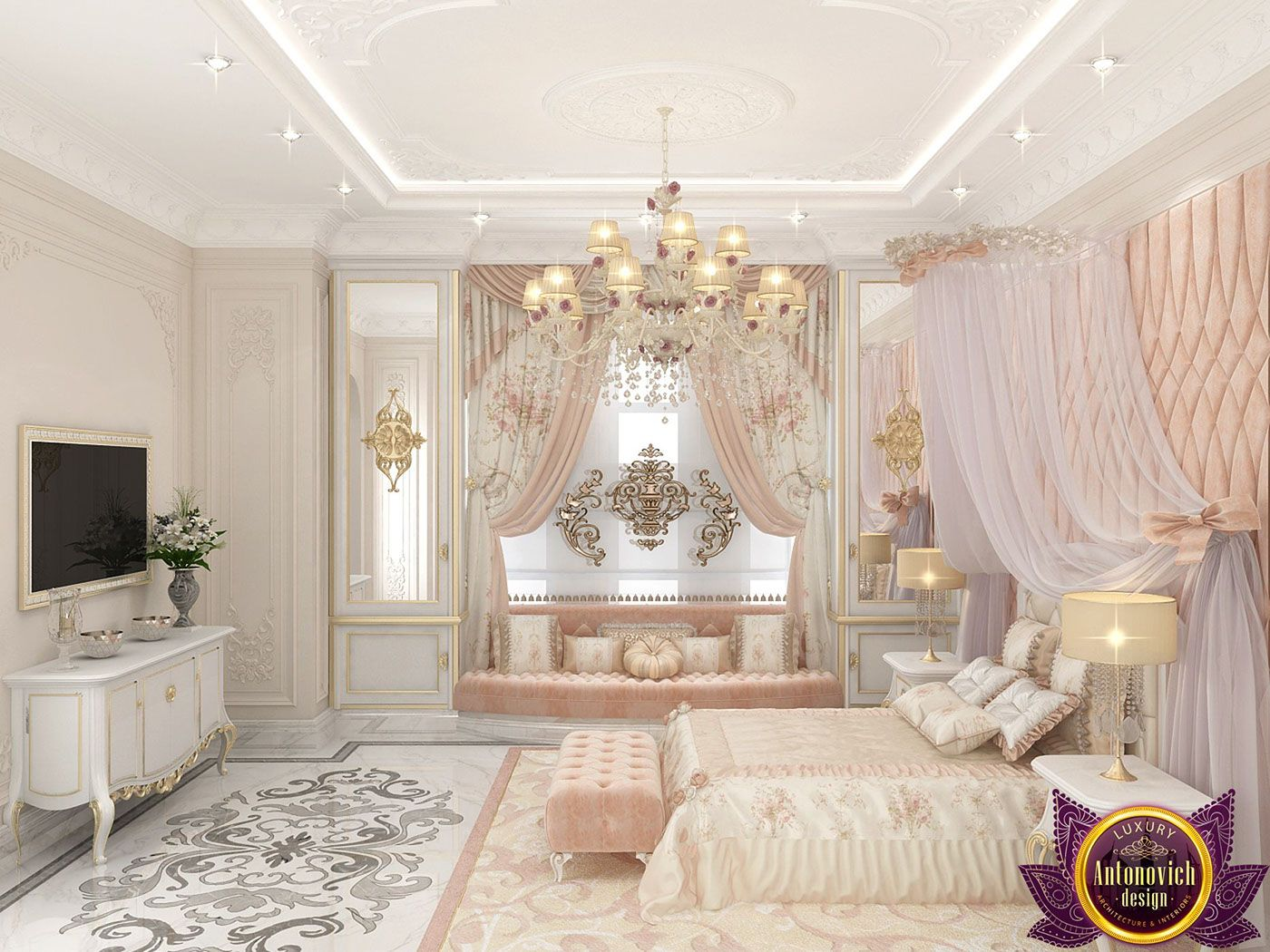 Best Kids Room Design For Girl By Katrina Antonovich Reflects The Tenderness And Infinite Love That 400 x 300