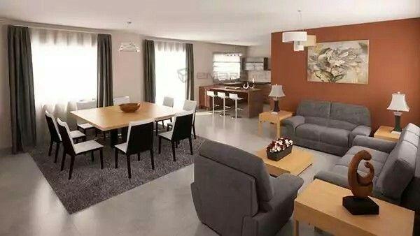 Dise o interior casa renders 3d interiores pinterest for Diseno de interiores en 3d