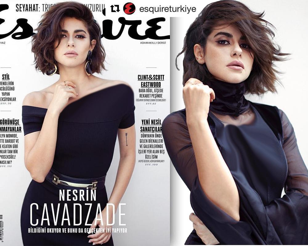 نسرین جوادزاده Celebrities Asymmetrical Tops Turkish Actors