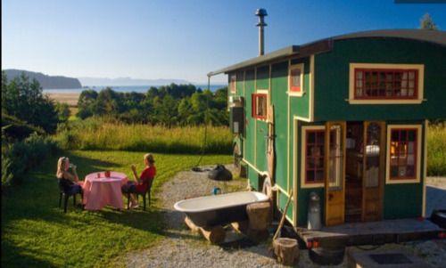 Strange Micromanor Truck House In New Zealand For Rent On Airbnb Best Image Libraries Weasiibadanjobscom