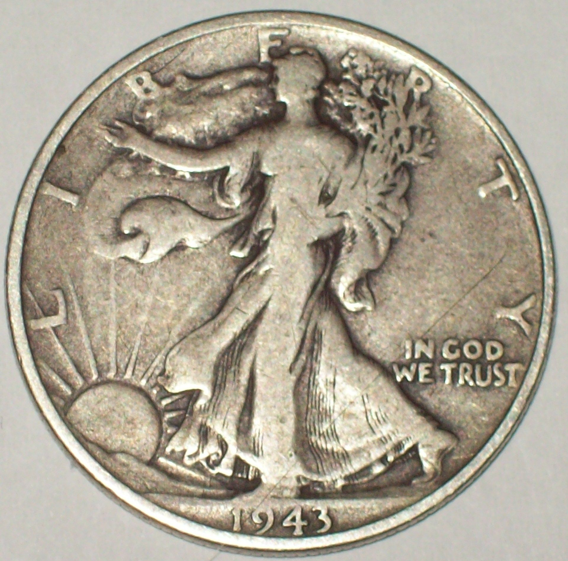 Silver Half Dollar I Believe This Is A Silver Dollar