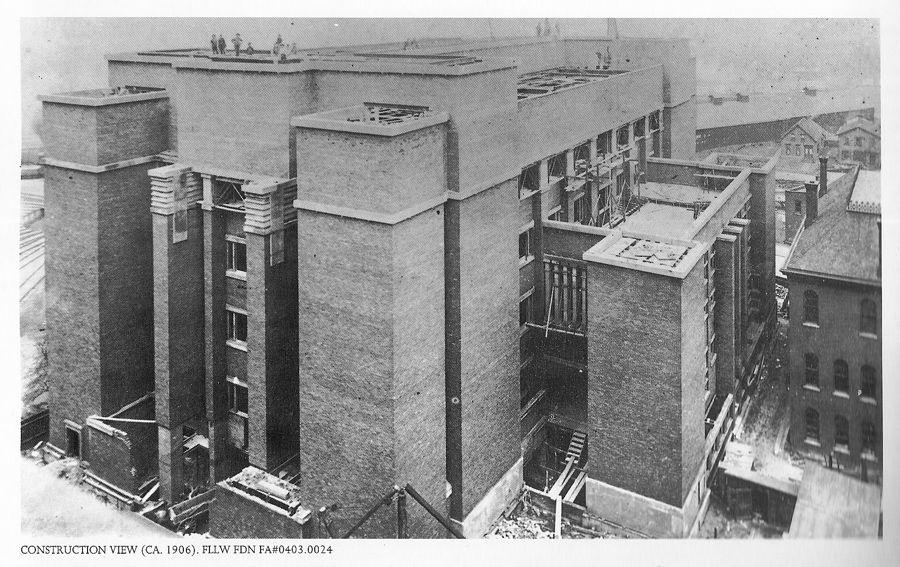 frank lloyd wright larkin building works