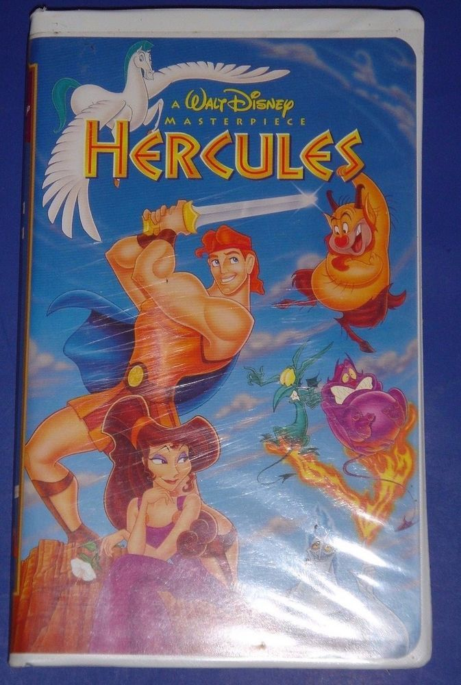 Hercules vhs 1998 hercules and vhs tapes - Hercule walt disney ...