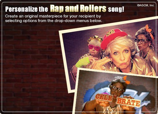 Ecard rap and rollers video ecard personalized lyrics ecard rap and rollers video ecard personalized lyrics american greetingsfunny m4hsunfo
