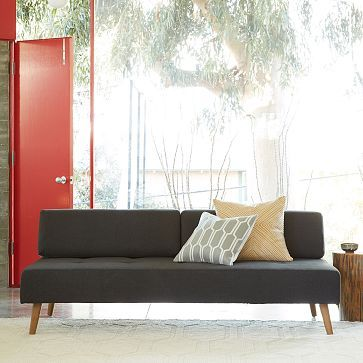 West Elm Retro Tillary Sofa. Would Be Relatively Easy To Recreate With A  Platform And