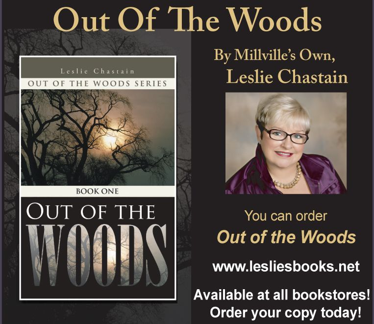 Out Of The Woods By Millville S Own Leslie Chastin Has Been Released And Is Available At All Local Bookstores Bookstore Out Of The Woods Leslie