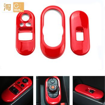 Mini One Zubehör : mini cooper 2014 f56 and 2015 f55 car door window lifter button plate cover and control switch ~ Aude.kayakingforconservation.com Haus und Dekorationen