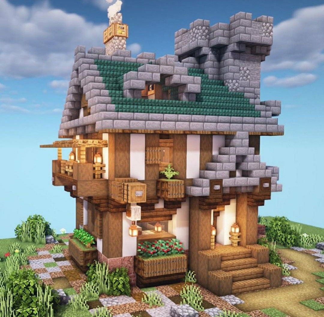 Medieval Houses Image By The Fatemaker On Minecraft Creations In 2020