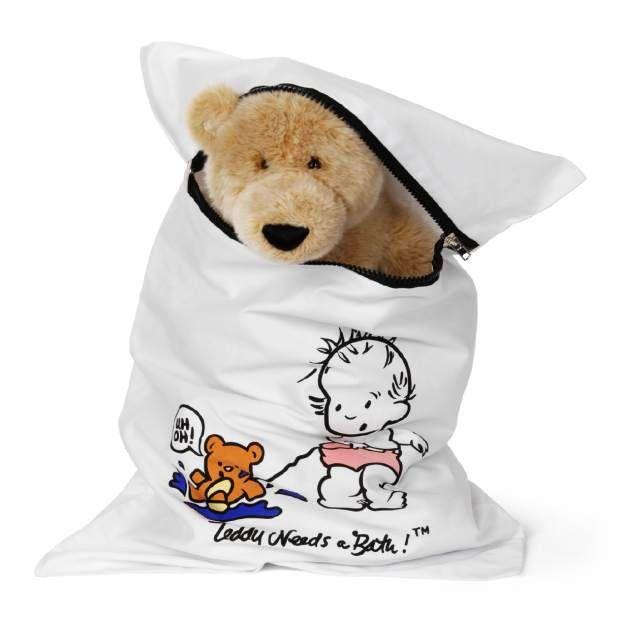 Teddy Needs A Bath Is A Washing Machine Bag For Stuffed