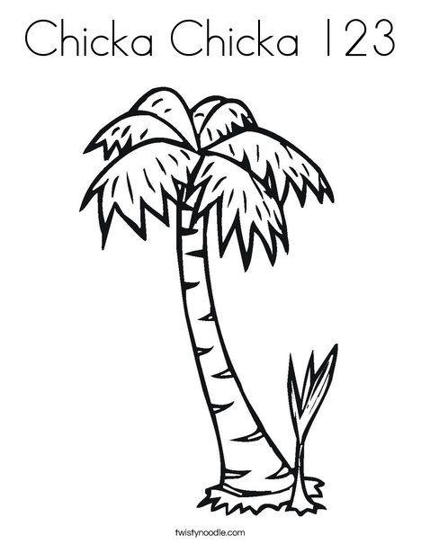 10 Views Chicka Chicka Boom Boom Palm Tree Crafts Felt Board