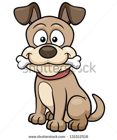 vector illustration of cartoon dog stock vector cartoon design rh pinterest com free puppies victoria tx Puppy Love Cartoon