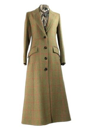Long Tweed Coat Ladies - Coat Nj