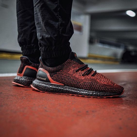 c91e5c4f5 DEAL Inexpensive Adidas Ultra Boost Uncaged Black Solar Red Shoes Clearance