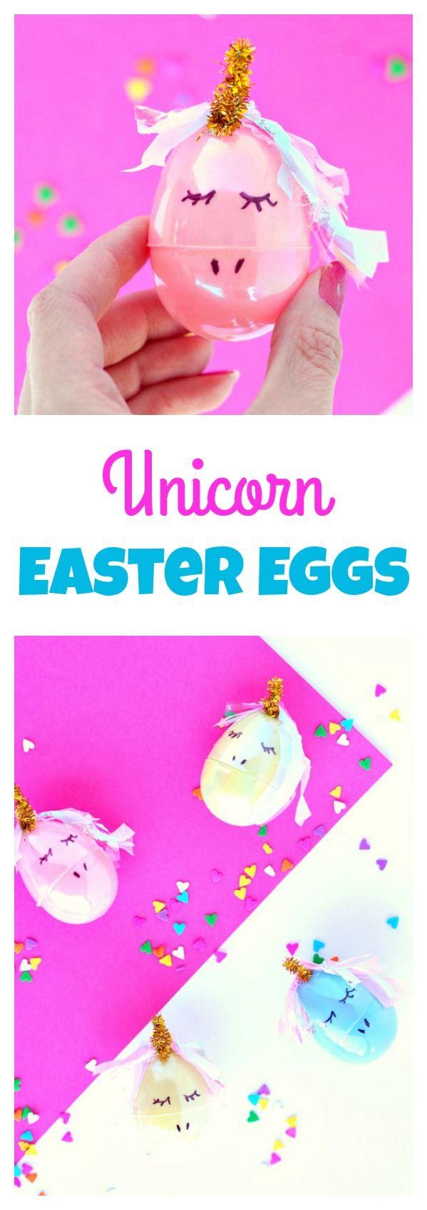 Unicorn Easter Eggs