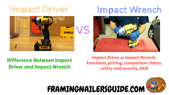 Impact Drivers Vs Impact Wrenches What S The Better Impact Driver Dewalt Impact Driver Impact Wrench