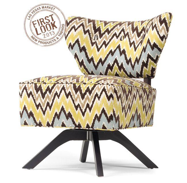 Making Wavelengths At #lvmkt   Swivelette #chair From Bkind3 By Lazar  Creates Big Buzz