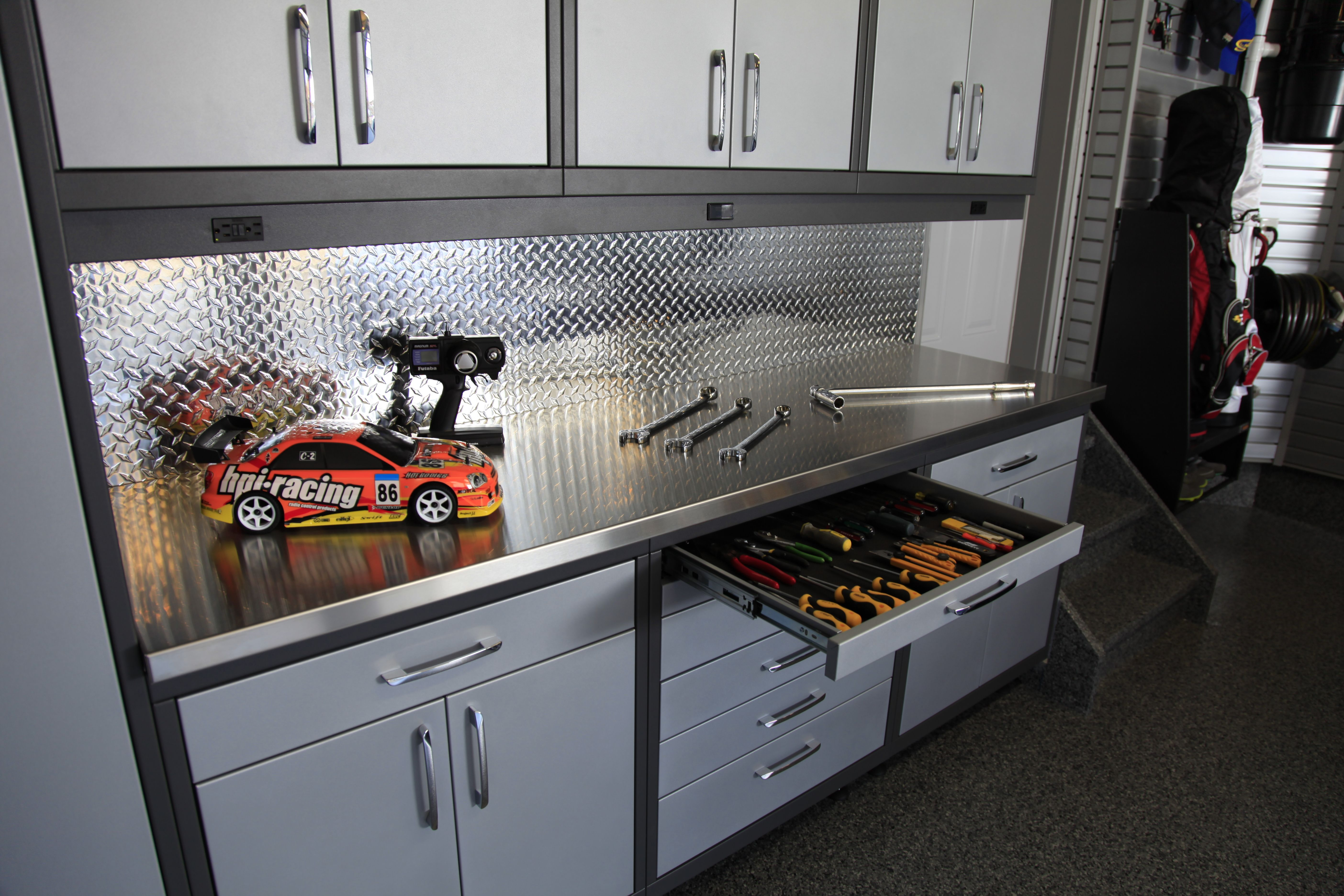 Garage Workshop Ideas For Creating A Versatile And Organized ... on racing man cave ideas, racing party ideas, racing clip art,