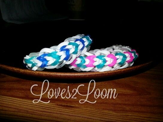 My Elevation Rainbow Loom Bracelet Using Double Bands Tutorial - What is my elevation
