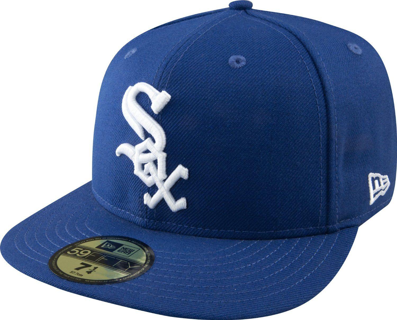 ecb8ca5011545 MLB Chicago White Sox luz con blanco 59FIFTY gorra ajustada  Amazon.com.mx   Deportes y Aire Libre