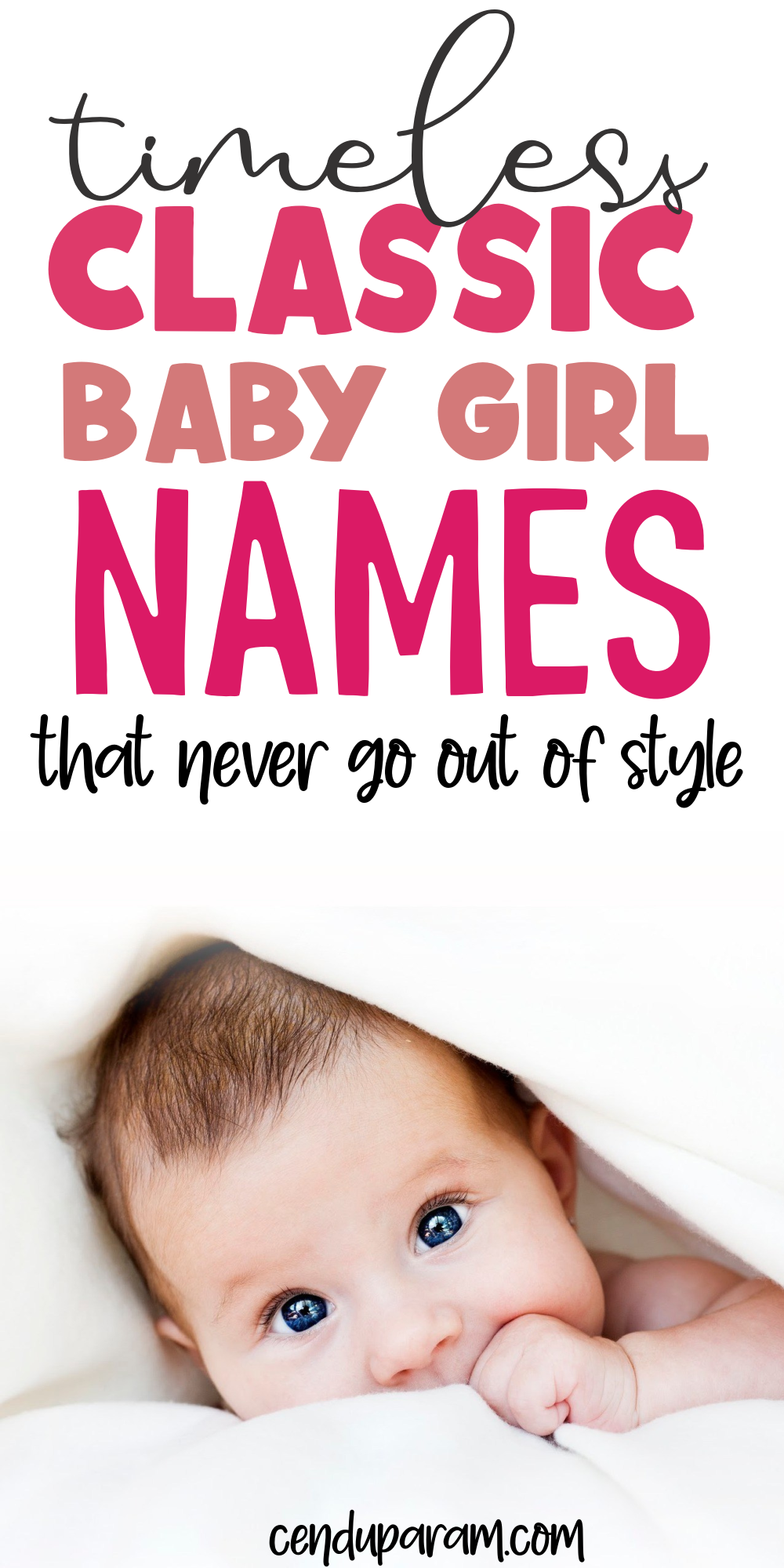 Classic Baby Girl Names with Vintage Charm (and meanings)