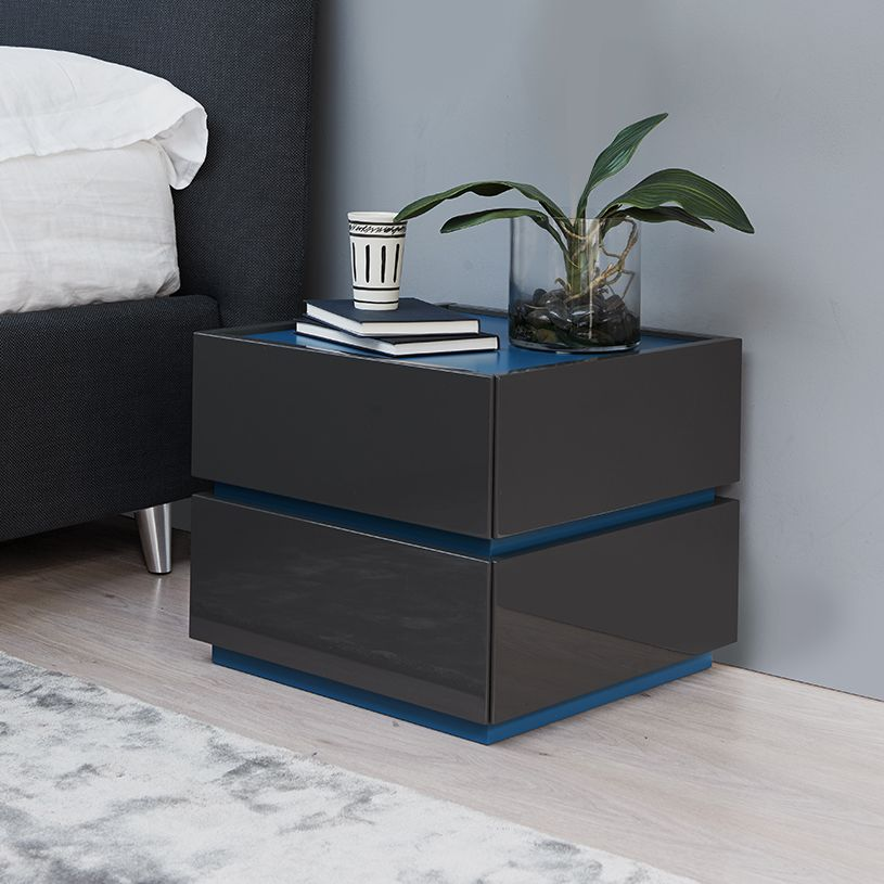 best sneakers 7f383 88008 Como 2 Drawer Bedside Table. H38cm in 2019 | Bedroom ...