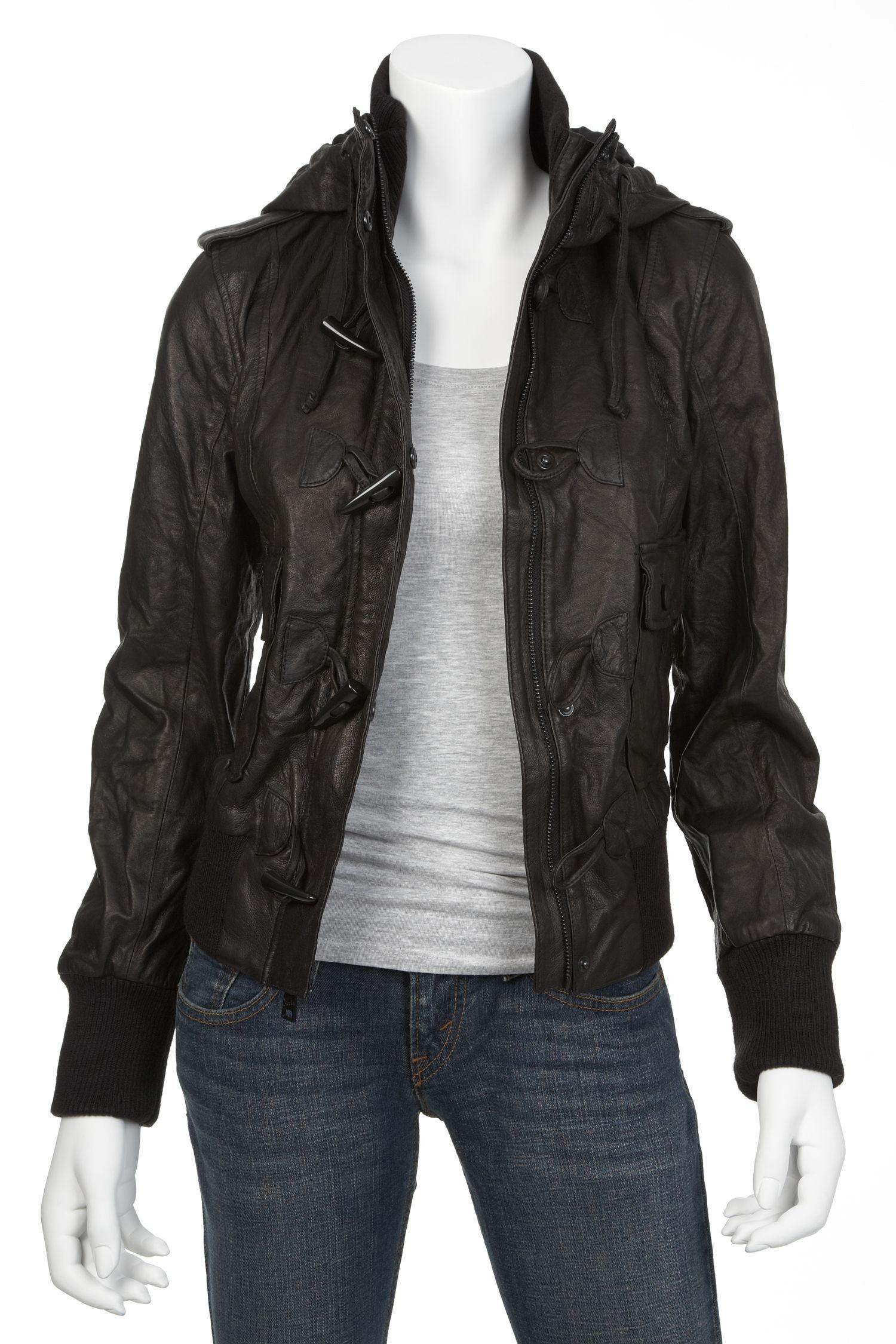 Levi's womens leather jacket, buy leather levi's jackets online ...