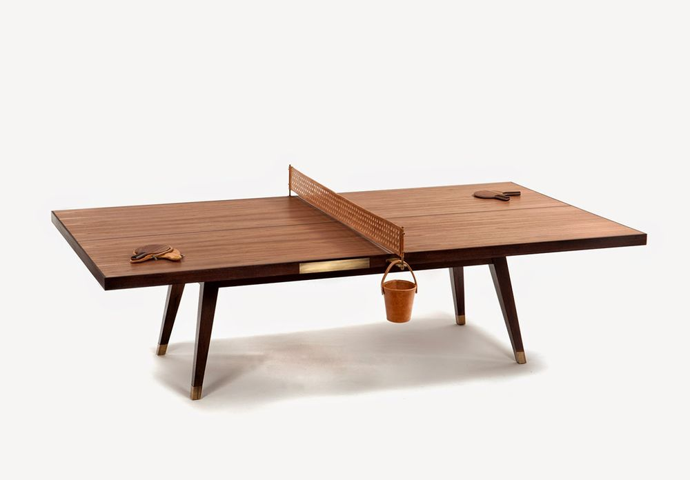 Lets bounce wood ping pong table by etel ping pong