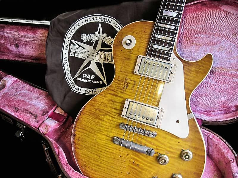 Gibson Les Paul 59 Reissue Tom Doyle Time Machine 13 Relic Historic Aged R9 W Doyle Coils Paf Guitar Heaven Doyle Coils Tru Clones Pafs We Specialize Guitar Gibson Les