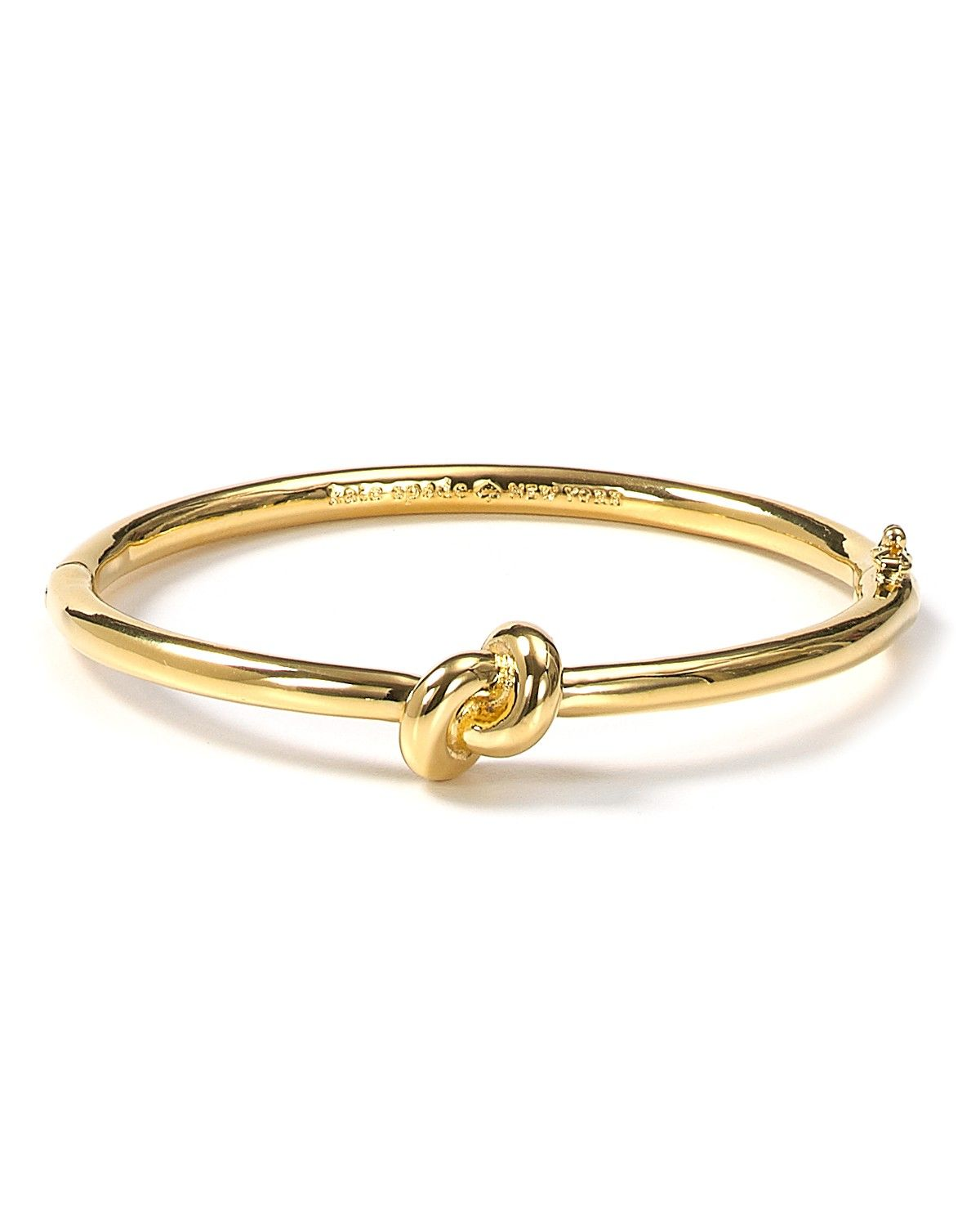Kate Spade New York Sailor S Knot Hinge Bangle Thanks For Helping Me Tie The