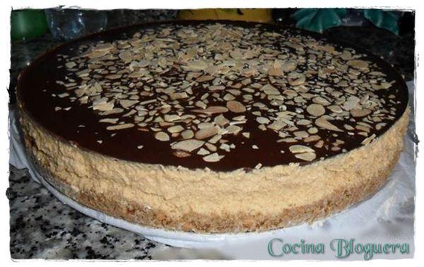Tarta Mousse de Dulce de Leche y Chocolate ~ Cocina Bloguera