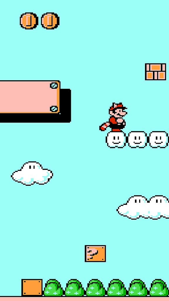 Super Mario Bros 3 Iphone 5 Wallpaper Matt Gemmell Flickr Mario Bros Super Mario Super Mario Bros