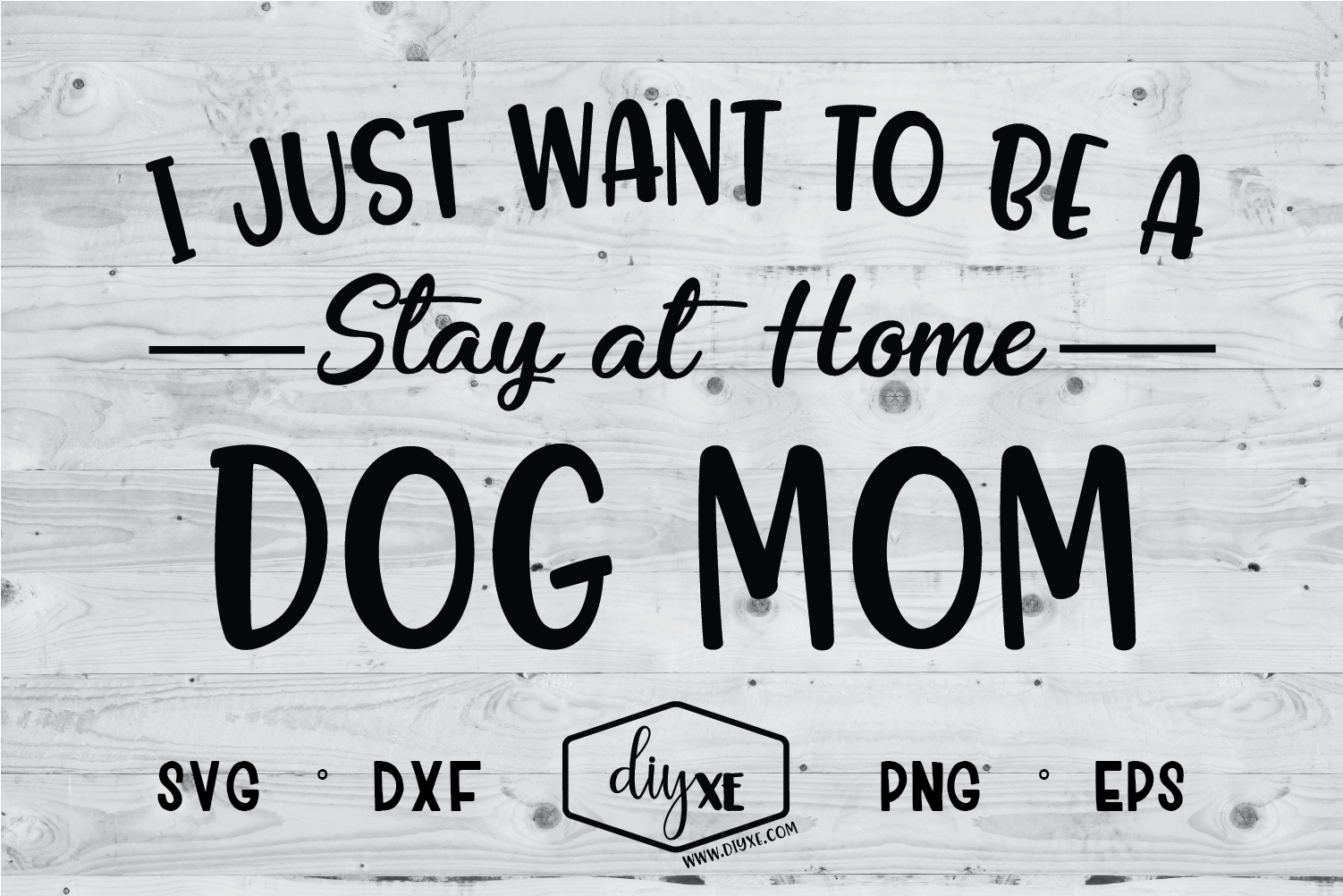Stay at Home Dog Mom SVG (Graphic) by Sheryl Holst · Creative Fabrica #stayathome