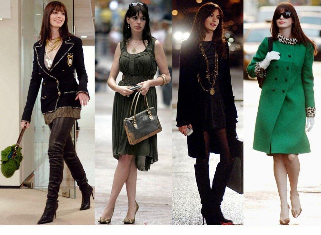Ann Hathway fashion line up in Devil Wears Prada