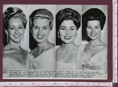 1963 miss america finals pageant atlantic city nj photo. Black Bedroom Furniture Sets. Home Design Ideas