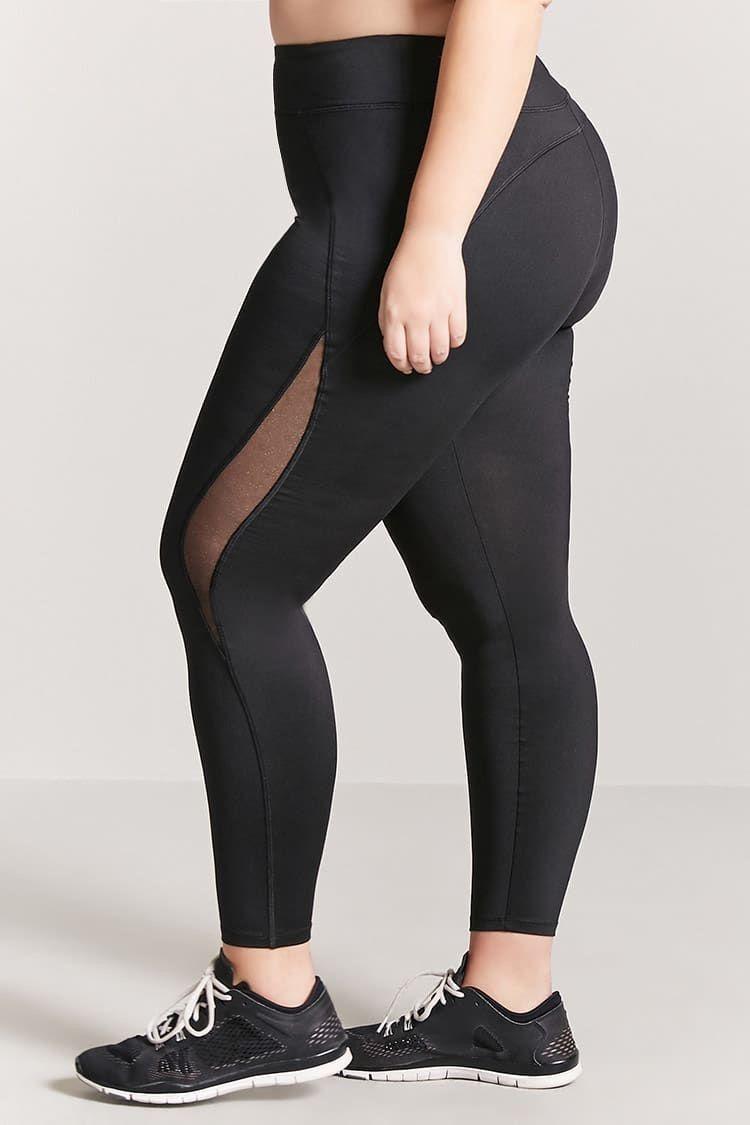 1c6a805f56f8e4 Plus Size Active Metallic-Panel Capri Leggings - Activewear - Shop By  Collection - Clothing