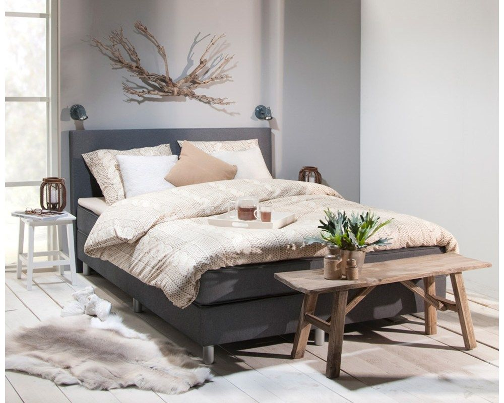 Bank achter bed - slaapkamer | Pinterest - Bank, Slaapkamer en Voor ...