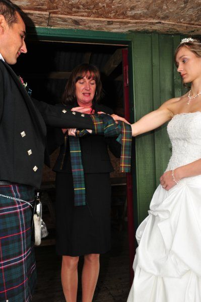 Scottish Hand Fasting Ritual Tartan Wedding Scottish Wedding Themes Scottish Wedding