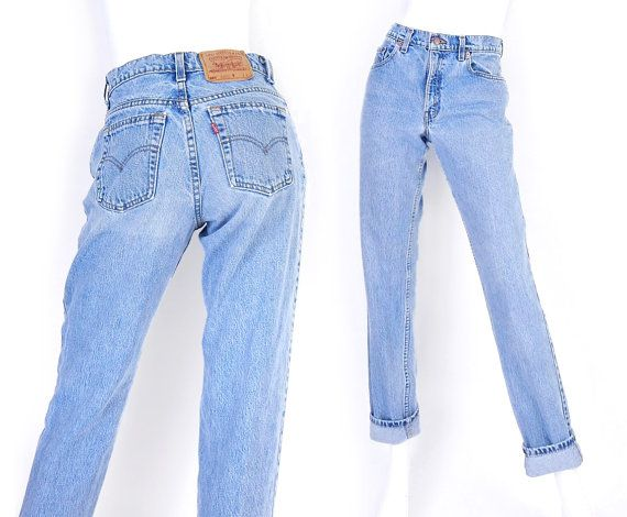 Vintage 90s Levis 550 High Waisted Mom Jeans Size 7 Long Stone Washed Medium Blue Tapered Loose Re Relaxed Fit Jeans Women Mom Jeans High Waisted Mom Jeans 100% satisfaction guaranteed since 1920. vintage 90s levis 550 high waisted mom
