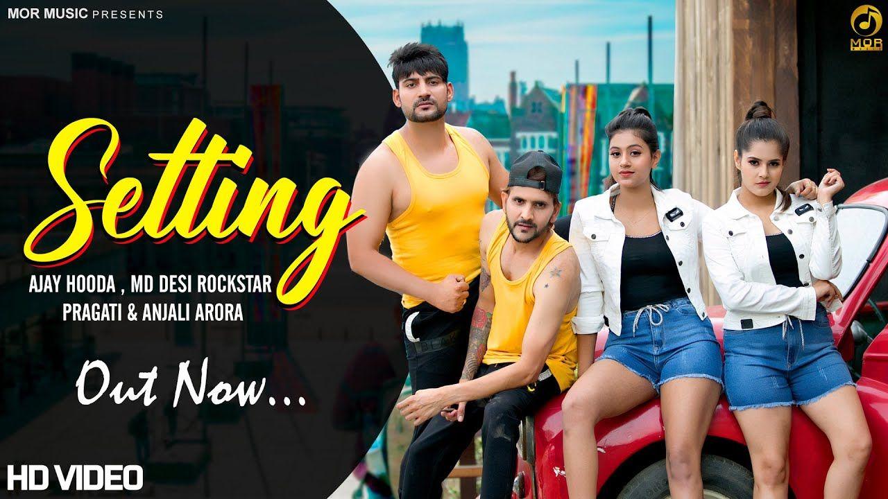 Setting Ajay Hooda Md Ft Pragati Anjali Lyricswithpj In 2020 Songs Lyrics Lyrics Website