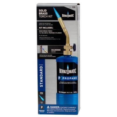 Bernzomatic UL100 - Basic Propane Torch Kit-334458 at The Home Depot